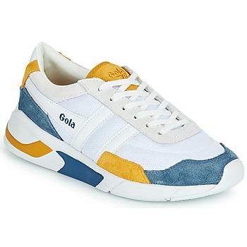 Παπούτσια Γυναίκα Χαμηλά Sneakers Gola GOLA ECLIPSE Άσπρο / Μπλέ / Yellow