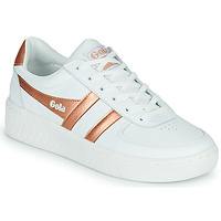 Παπούτσια Γυναίκα Χαμηλά Sneakers Gola GOLA GRANDSLAM Άσπρο / Bronze