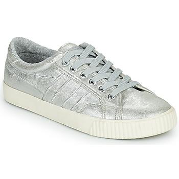 Παπούτσια Γυναίκα Χαμηλά Sneakers Gola GOLA TENNIS MARK COX SHIMMER Silver