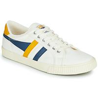 Παπούτσια Άνδρας Χαμηλά Sneakers Gola GOLA TENNIS MARK COX Άσπρο / Μπλέ / Yellow