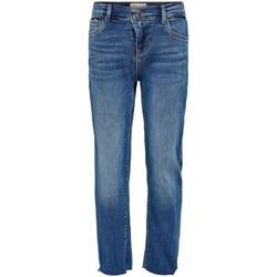 Υφασμάτινα Κορίτσι Τζιν σε ίσια γραμμή Only Kids Jeans fille  Emily raw medium blue denim