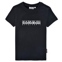 Υφασμάτινα Αγόρι T-shirt με κοντά μανίκια Napapijri S-BOX SS Black
