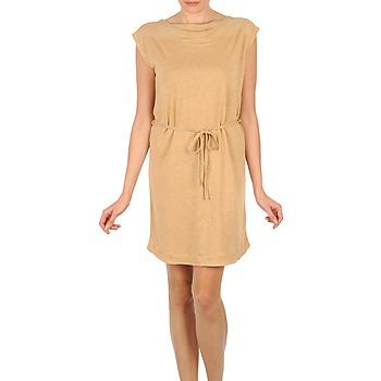 Υφασμάτινα Γυναίκα Κοντά Φορέματα Majestic CAMELIA Beige