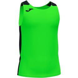 Υφασμάτινα Αγόρι Αμάνικα / T-shirts χωρίς μανίκια Joma Débardeur  Record II vert fluo/noir