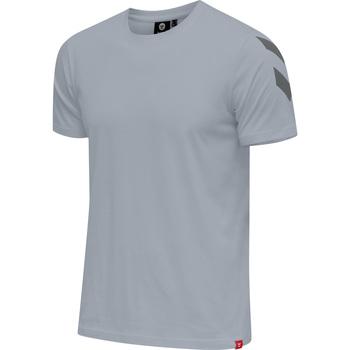 Υφασμάτινα Άνδρας T-shirt με κοντά μανίκια Hummel T-shirt  hmlLEGACY chevron gris