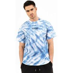 Υφασμάτινα Άνδρας T-shirt με κοντά μανίκια Sixth June T-shirt  tie dye bleu