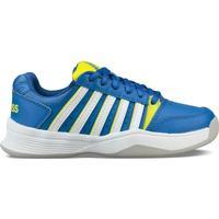 Παπούτσια Παιδί Tennis K-Swiss Chaussures enfant  ks tfw court smash bleu foncé/jaune/blanc