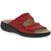 Παπούτσια Γυναίκα Τσόκαρα Emanuela 1242 ROSSO Rosso