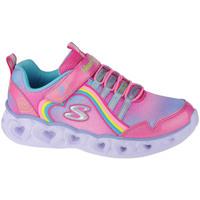 Παπούτσια Παιδί Χαμηλά Sneakers Skechers Heart Lights-Rainbow Lux Rose