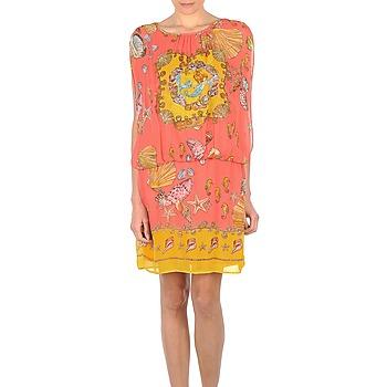 Υφασμάτινα Γυναίκα Κοντά Φορέματα Derhy ACCORDABLE ροζ / Yellow