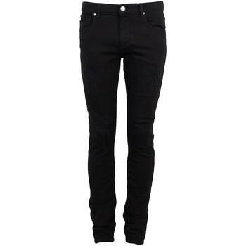 Υφασμάτινα Άνδρας Παντελόνια Πεντάτσεπα Bikkembergs  Black