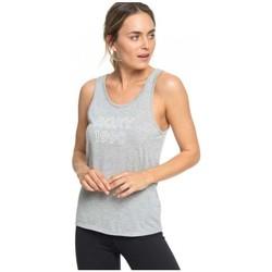Υφασμάτινα Γυναίκα Αμάνικα / T-shirts χωρίς μανίκια Roxy CAMISETA TIRANTES MUJER  ERJZT04535 Grey