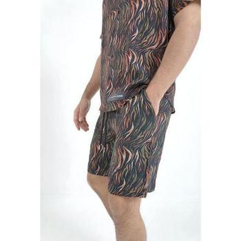 Υφασμάτινα Άνδρας Σόρτς / Βερμούδες Sixth June Short  tropical noir