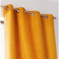 Σπίτι Κουρτίνες, περσίδες Linder SUEDINE LOURDE Yellow