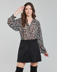 Υφασμάτινα Γυναίκα Μπλούζες Only ONLMELINA Black / Multicolour