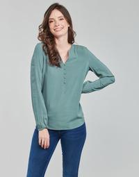 Υφασμάτινα Γυναίκα Μπλούζες Only ONLNEW EDDIE Green