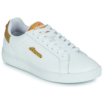 Παπούτσια Γυναίκα Χαμηλά Sneakers Ellesse CAMPO Άσπρο / Gold