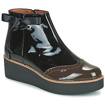 Παπούτσια Γυναίκα Μπότες Fericelli JANDICI Black / Brown