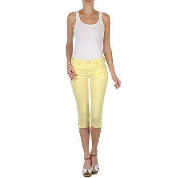 Υφασμάτινα Γυναίκα Κοντά παντελόνια Mustang Jasmin cropped Yellow