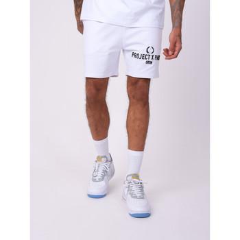 Υφασμάτινα Άνδρας Σόρτς / Βερμούδες Project X Paris  Άσπρο