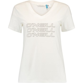 Υφασμάτινα Γυναίκα T-shirt με κοντά μανίκια O'neill Triple Stack άσπρο