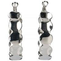 Ρολόγια & Kοσμήματα Γυναίκα Σκουλαρίκια Luna Collection 56290 Silver