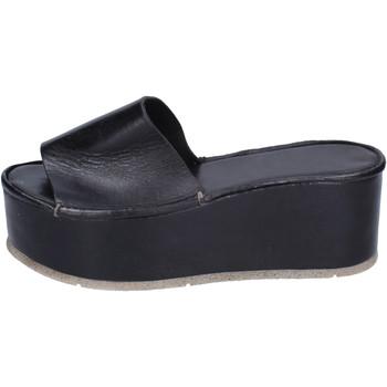 Παπούτσια Γυναίκα Τσόκαρα Moma Σανδάλια BH287 Black