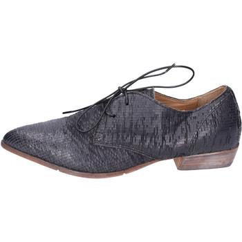 Παπούτσια Γυναίκα Derby Moma BH295 Μαύρος