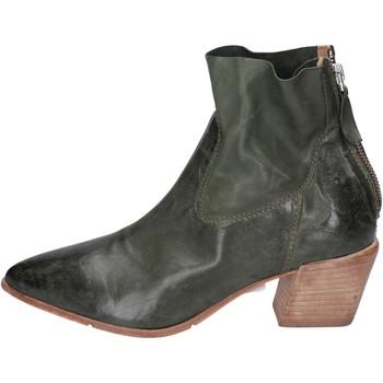 Παπούτσια Γυναίκα Μποτίνια Moma Μπότες αστραγάλου BH308 Green