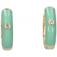 Ρολόγια & Kοσμήματα Γυναίκα Σκουλαρίκια Luna Collection 57414 green
