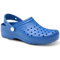 Παπούτσια Άνδρας Σαμπό Feliz Caminar Zuecos Sanitarios Flotantes Gruyere - Μπλέ