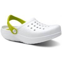 Παπούτσια Άνδρας Σαμπό Feliz Caminar Zuecos Sanitarios Kinetic - Άσπρο