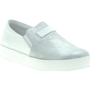 Παπούτσια Γυναίκα Slip on Mally M007 λευκό