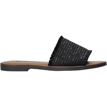 Παπούτσια Γυναίκα Τσόκαρα Refresh 72958 Μαύρος