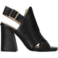 Παπούτσια Γυναίκα Σανδάλια / Πέδιλα Carmens Padova 45059 Μαύρος
