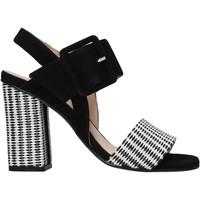 Παπούτσια Γυναίκα Σανδάλια / Πέδιλα Carmens Padova 45108 Μαύρος