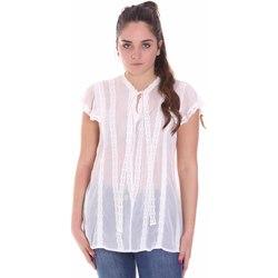 Υφασμάτινα Γυναίκα Μπλούζες Fracomina FR20SMGRAZIA λευκό