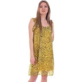 Υφασμάτινα Γυναίκα Κοντά Φορέματα Gaudi 111FD15051 Κίτρινος