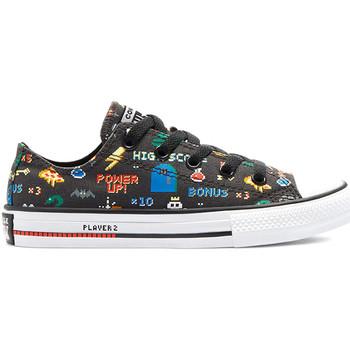 Παπούτσια Παιδί Χαμηλά Sneakers Converse 670351C Μαύρος