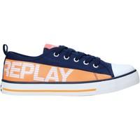 Παπούτσια Παιδί Χαμηλά Sneakers Replay GBV24 .003.C0002T Μπλε