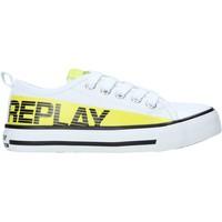 Παπούτσια Παιδί Χαμηλά Sneakers Replay GBV24 .322.C0002T λευκό