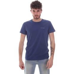 Υφασμάτινα Άνδρας T-shirt με κοντά μανίκια Key Up 2G69S 0001 Μπλε