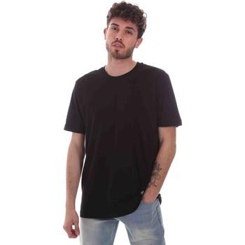 Υφασμάτινα Άνδρας T-shirt με κοντά μανίκια Key Up 2M915 0001 Μαύρος