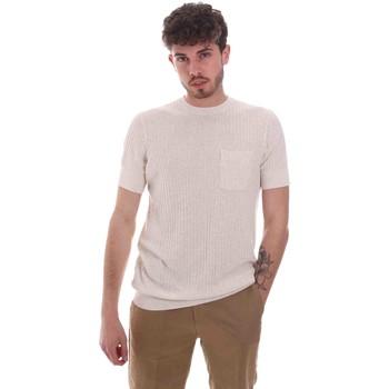 Υφασμάτινα Άνδρας T-shirt με κοντά μανίκια Antony Morato MMSW01179 YA500068 Μπεζ