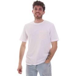 Υφασμάτινα Άνδρας T-shirt με κοντά μανίκια Sseinse TE1852SS λευκό