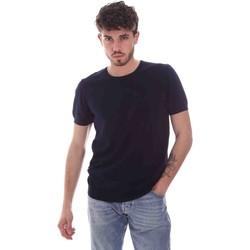 Υφασμάτινα Άνδρας T-shirt με κοντά μανίκια Gaudi 111GU53004 Μπλε