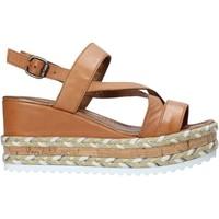 Παπούτσια Γυναίκα Σανδάλια / Πέδιλα Bueno Shoes 21WQ6002 καφέ