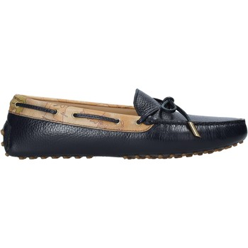 Παπούτσια Γυναίκα Μοκασσίνια Alviero Martini P737 587A Μαύρος