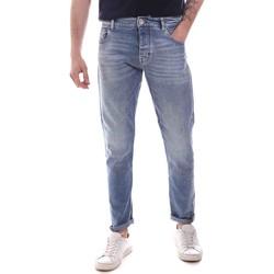 Υφασμάτινα Άνδρας Skinny Τζιν  Gaudi 111GU26044 Μπλε