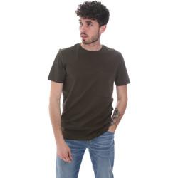 Υφασμάτινα Άνδρας T-shirt με κοντά μανίκια Antony Morato MMKS02023 FA100229 Πράσινος